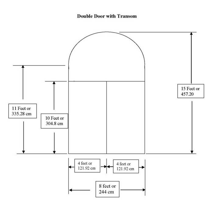 Exterior Door Rough In Dimensions Submited Images